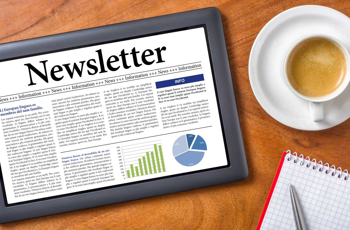 Focus Newsletter to audience