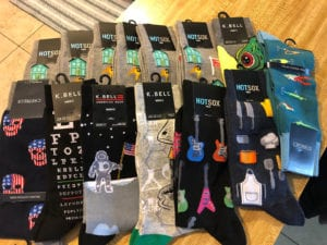 donor gifts socks